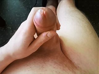 Edging and using cum as lube