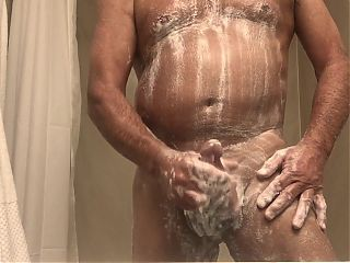 Grandpa morning shower