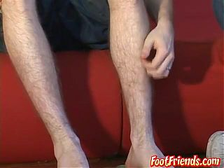 Feet and body worship leading to a toe sucking sixtynine