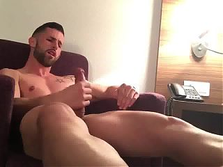 Great jerking huge cock