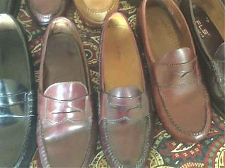 Part of my collection of penny loafers