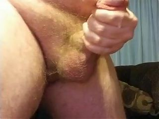 Straight guy jerks a big load