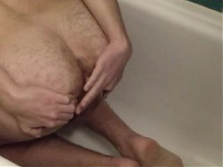 Virgin likes to finger his ass after long day of work