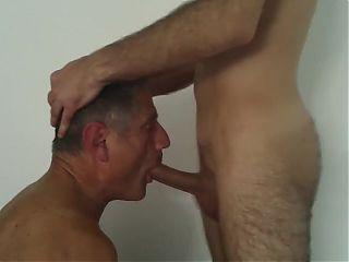 Daddy blows hard