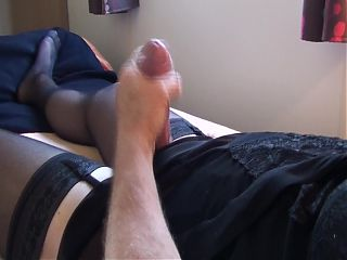 Playing with my cock 7