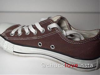 My Sisters Shoes: Converse Brown