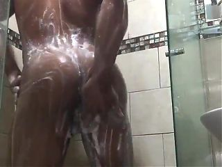 My Cousing Taking a Shower