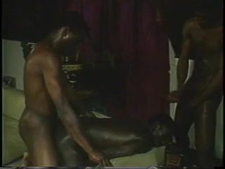 Black Men Threesome