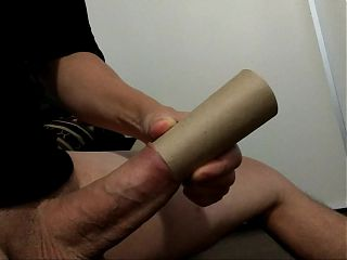 Fat Dick in roll test ( pija gorda en rollo)