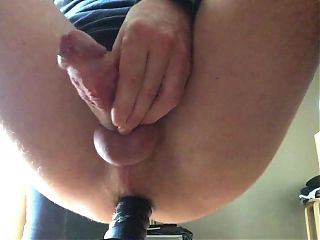 Black Dildo Ride