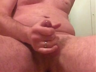 german sub guy cumming while riding black dildo