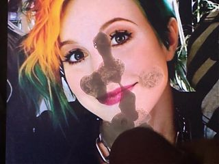 Hayley Williams Cum Tribute 5! :3