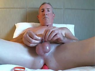 Big dicked dad wanking 035
