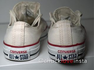 My Sisters Shoes: Converse White (worn!)